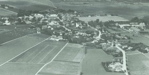 Kværkeby fra oven 1949