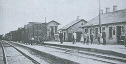 Den gamle station betalt af borgerne